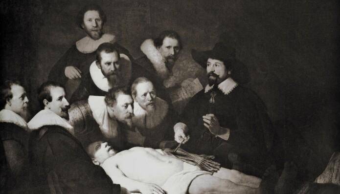 På 1600-tallet begynte man å undersøke kroppen på mer vitenskapelig vis. (Illustrasjon: Oleg Golovnev / Shutterstock / NTB scanpix).