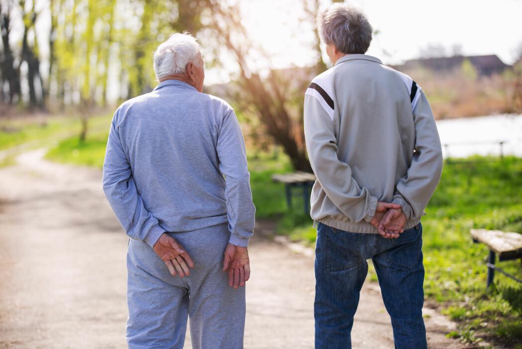 Ny norsk forskning viser at hvilken type demens pasienten får, trolig har noe å si for personens forventede levetid. (Illustrasjonsfoto: adriaticfoto / Shutterstock / NTB scanpix)