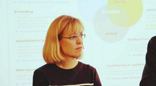 Språkrådet: - Mindre norsk kan føre til at fag forsvinn
