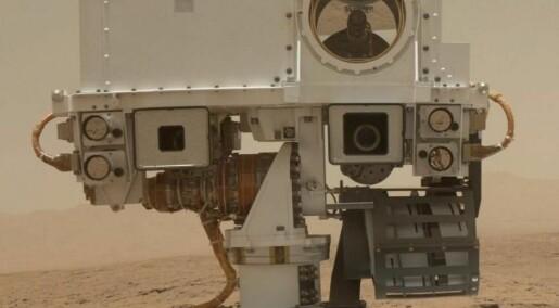 Nå skiller Curiosity selv mellom spennende og kjedelig Mars-stein