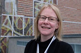 Ragnhild Krogvig Karlsen, kommunikasjonsrådgiver i NAPHA, Nasjonalt kompetansesenter for psykisk helsearbeid. (Foto: Eivind Torgersen)