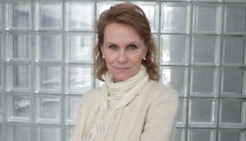 Journalist i NRK og i BBCs podkast, Marit Higraff, er overrasket over alt de har kunnet finne ut om kvinnen i ettertid. (Foto: Sigrid Winther).