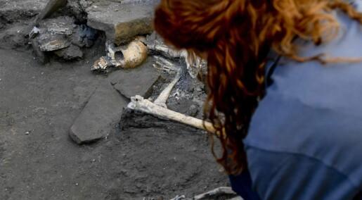 Levninger av Pompeii-innbyggere funnet