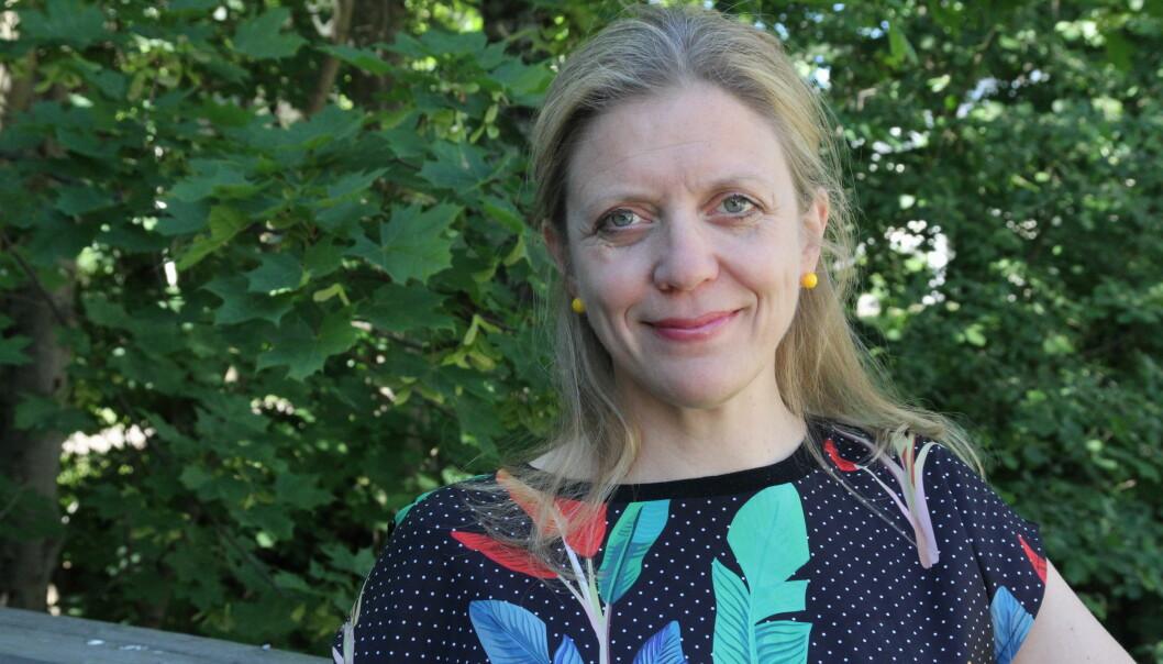 Ingrid Bay-Larsen er en av tre redaktører i den kommende boka Interessekonflikter i forskning. (Foto: Elin Fugelsnes)