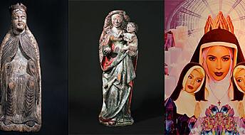 Skal forske på jomfru Maria-motiv
