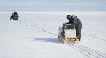Landformasjoner under Antarktis gjør isen tynn