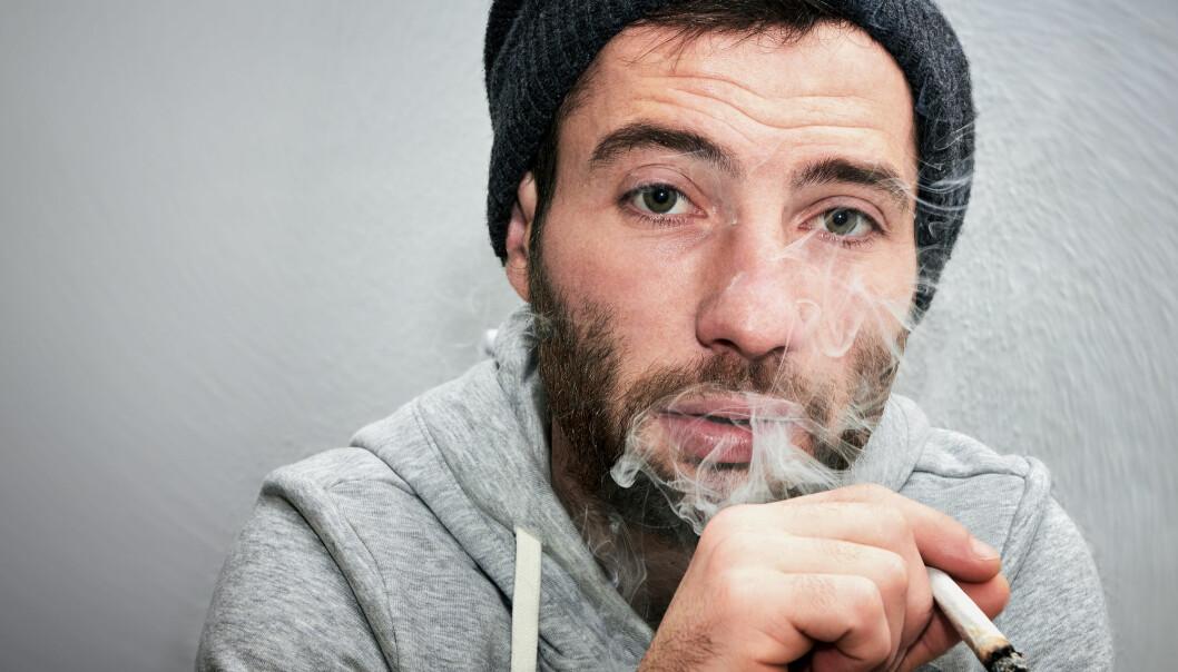 Noen blir avhengige av å røyke hasj. Andre kan slutte. (Foto: Alexandru Logel / Shutterstock / NTB scanpix)