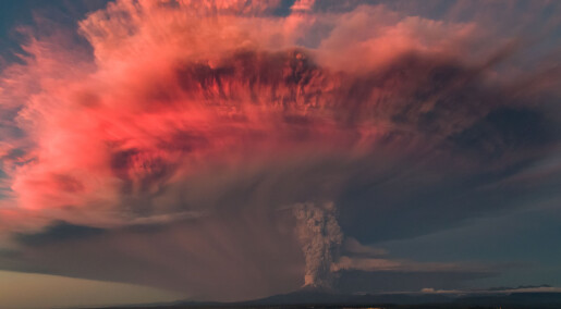 Gigantisk vulkanutbrudd fikk store deler av Europa til å gå under for 13 000 år siden