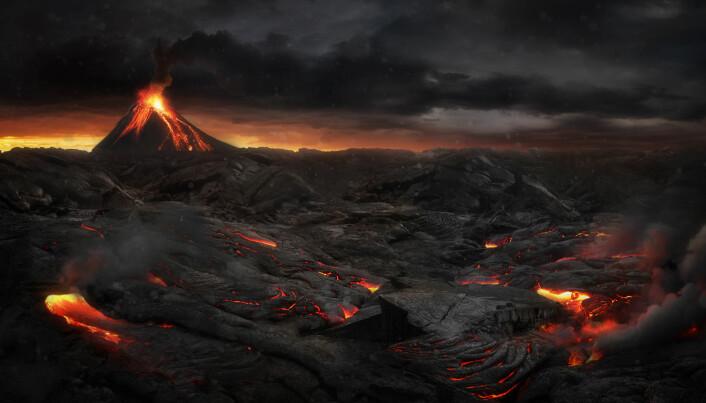 Laacher See-vulkanen spydde ut en 20–40 km høy askesøyle og etterlot et askelag som i nærområdet var opptil 50 meter tykt. (Foto: Jagoush / Shutterstock / NTB scanpix)