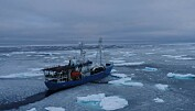 Varmere hav og mindre is nord for Svalbard