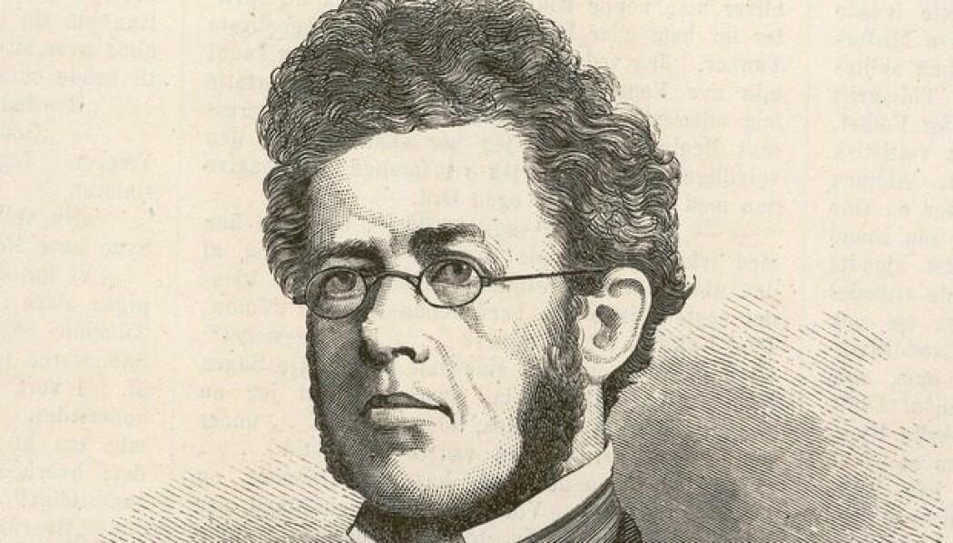 I år er det 200 år siden den norske samfunnsforskningens far ble født. (Foto: Nasjonalbiblioteket)