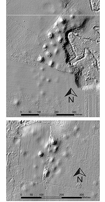 """Eksempler på flere """"monumentale"""" funnsteder som deler Izapa-strukturen. (Bilde: Rosenswig/López-Torrijos/Antiquity October 2018)"""