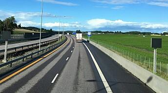 - Ikke dyrere å bygge motorvei i Norge