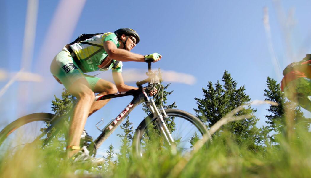 Halvveis gjennom Birken. Terrengsykkelbølgen på 1980- og 1990-tallet gjenopplivet sykkelen i Norge. Men med en annen kultur enn den som døde ut på 1960-tallet. (Foto: Håkon Mosvold Larsen, NTB scanpix)
