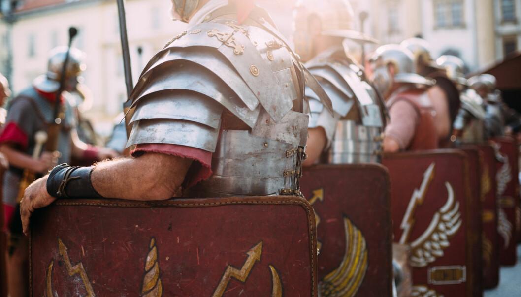 Romerne la store deler av Europa under seg for 2000 år siden. Sølv fra spanske gruver hjalp nok. Makt og penger hang sammen også den gangen.  (Illustrasjonsfoto: Shutterstock/NTB scanpix)