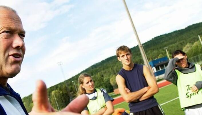 Mange unge fotballspillere opplever at treneren er mest opptatt av resultater
