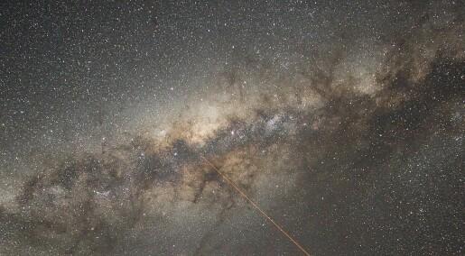 Forskere finner spor etter kollisjon mellom Melkeveien og en annen galakse