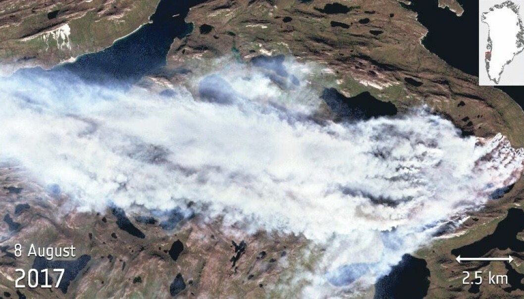 Grønland og Vesuv brenner!