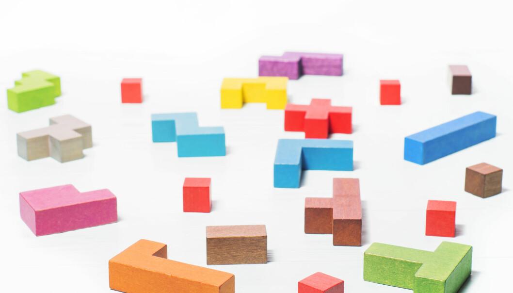 Å spille Tetris kan hjelpe oss til å bli mindre nervøse i ubehagelige situasjoner. (Photo: Radachynskyi Serhii / Shutterstock / NTB scanpix)