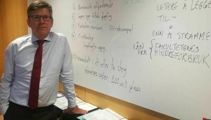 Tunge land som Tyskland, Kina og USA må med i ordningen, sier UiO-rektor Svein Stølen. (Foto: Martin Toft, Uniforum)