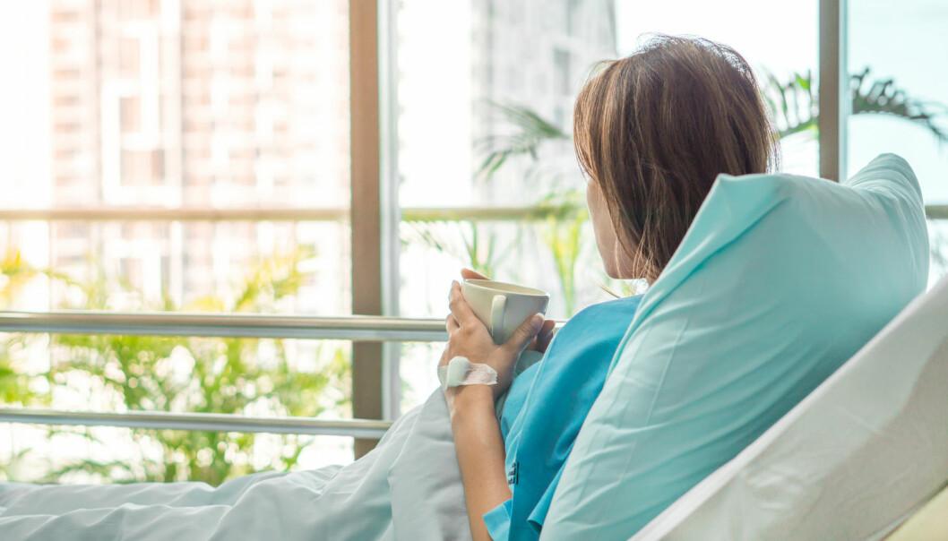 Pasienter som er innlagt med depresjon, er i gjennomsnitt innlagt 30 dager kortere hvis de ligger på lyse rom.  (Foto: pdsci / Shutterstock / NTB scanpix)