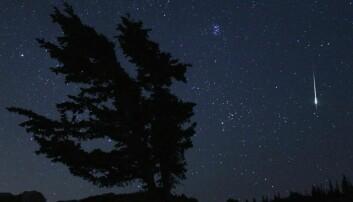 Kan en meteorsverm ødelegge en satellitt?