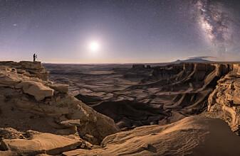 Dette er 2018s beste bilder av verdensrommet