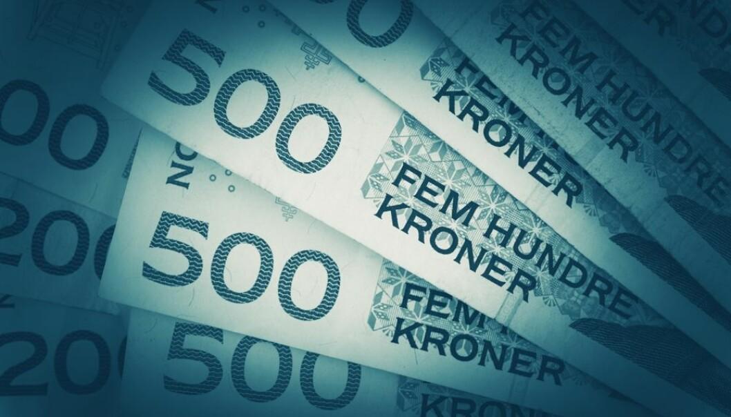 I Norge bruker vi 11 600 kroner per innbygger til forskning hvert år. I Sverige bruker de 15 100 kroner og i Danmark 14 000 kroner. Tall fra NIFU for 2015 (Foto: Colourbox)