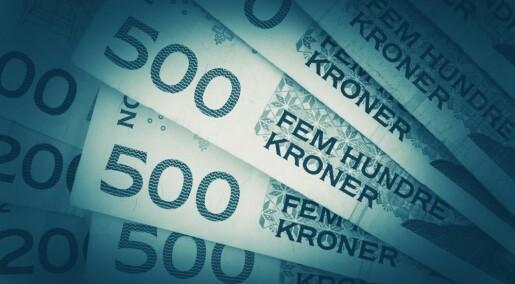 Så mye penger bruker Norge på forskning