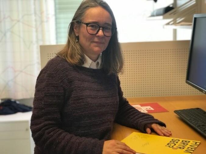 """Ylva Frøjd mener at lærere bør tilrettelegge for at elever kan drøfte motargumenter til den vanlige norske fortellingen om bistand og """"godhet"""" i forbindelse med Operasjon Dagsverk. (Foto: Siw Ellen Jakobsen)"""