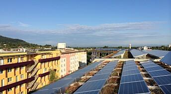 Bygg med null utslipp kan gjøre strøm billigere