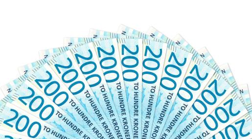 Sterk økning i lønnsforskjeller: Mest i det offentlige