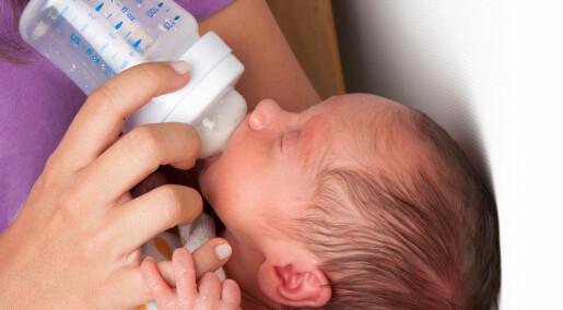 UV-behandlet melk kan styrke for tidlig fødte