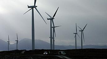 Forskere: Lokalsamfunn tjener lite på vindkraft