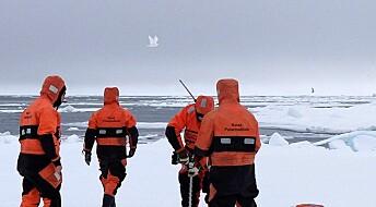 Store hull i isen påvirker værvarselet for Arktis