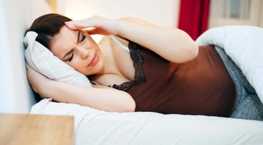 Kvinner med migrene slutter med medisiner når de blir gravide