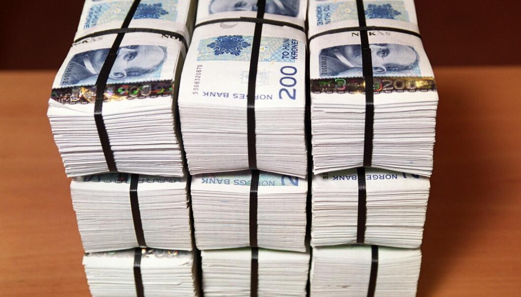 Særleg er det skilnader i bankinnskot, verdipapir, aksjar og obligasjonar, visar ny studie. (Foto: Berit Roald / NTB scanpix)