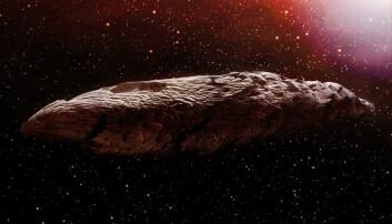 Harvard-forskere: Sigarformet objekt kan ha vært utenomjordisk romskip