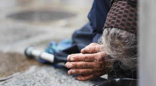 Spør en forsker: Hva skal jeg gjøre når jeg møter en hjemløs?