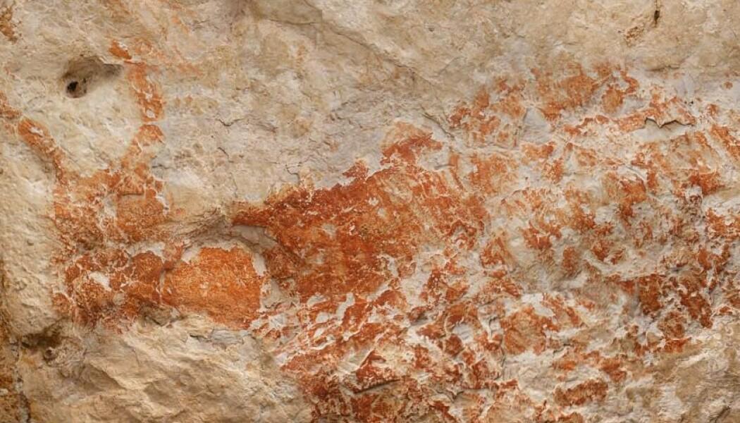 Dette skal vise kvegdyret banteng. Se hele huleveggen lengre ned i saken. (Bilde: Luc-Henri Fage<b>)</b>