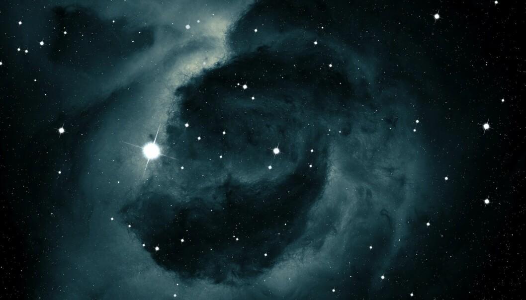 Hvor gjemmer du deg, mørke materie? (Illustrasjon: Jakub Grygier / Shutterstock / NTB scanpix)