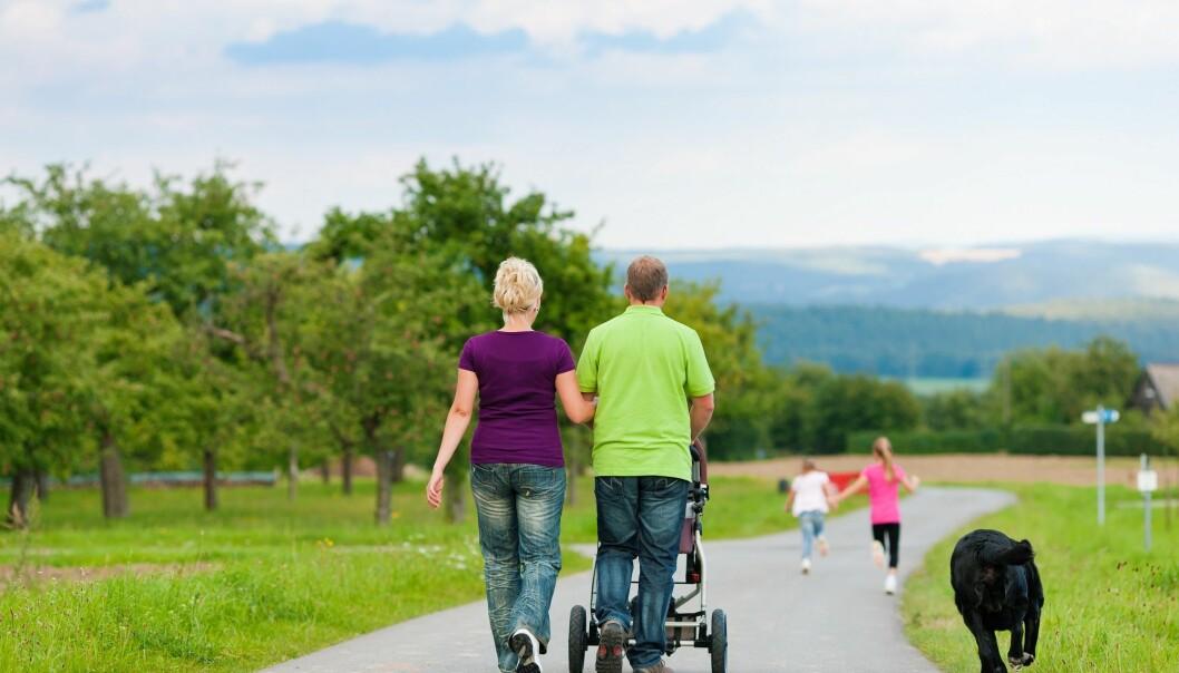 Forskere har undersøkt om barn får mindre atferdsproblemer dersom foreldrene mottar rådgivning. (Illustrasjonsfoto: Colourbox)