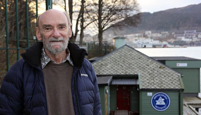 Oddgeir Alvheim har allerede to fisk og en sjøsnegl oppkalt etter seg. (Foto: Anders Jakobsen)
