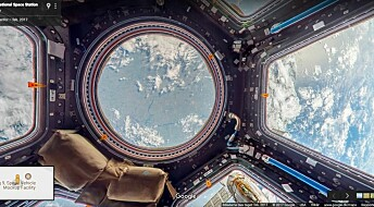 Nå kan du besøke den internasjonale romstasjonen med Google Street View