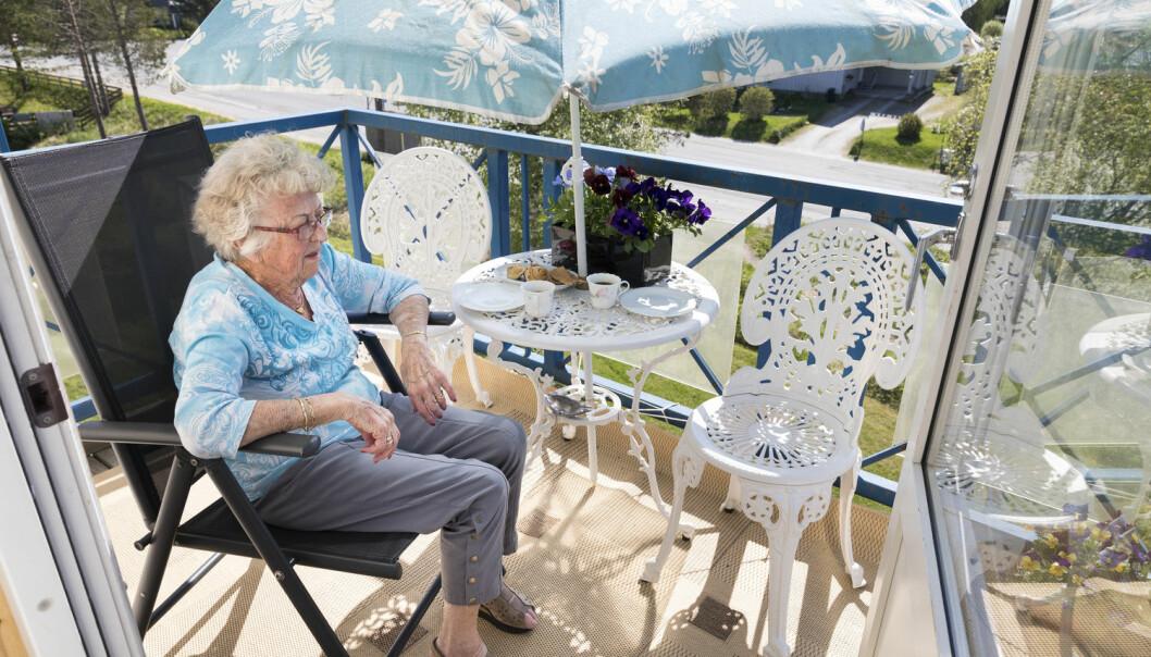 Det blir avgjørende framover hvor godt rustet vi som samfunn er til å møte stadig flere eldre innbyggere, mener amerikanske forskere. (Foto: Gorm Kallestad/NTB scanpix)