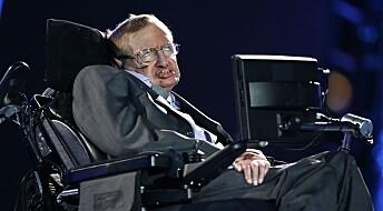 Stephen Hawkings rullestol solgt på auksjon