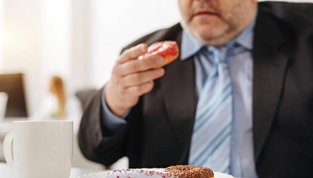 For mye søtsaker kan endre humøret på sikt. (Foto: Shutterstock/NTB scanpix)