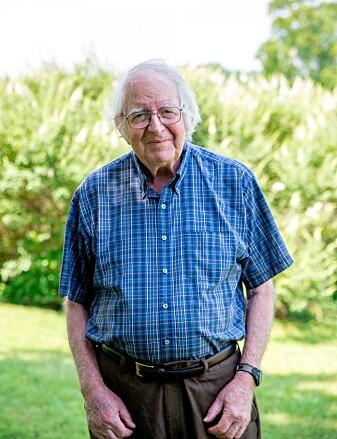 Hovedforfatter av studien, Lincoln Brower, døde før resultatene ble publisert. Han har viet store deler av livet til forskning på monarkene. (Foto: Cassie Evans/Sweet Briar College)