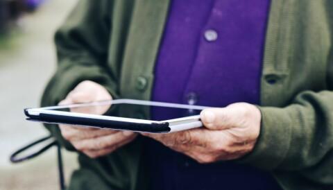 Bilderesultat for nettbrett pensjonister