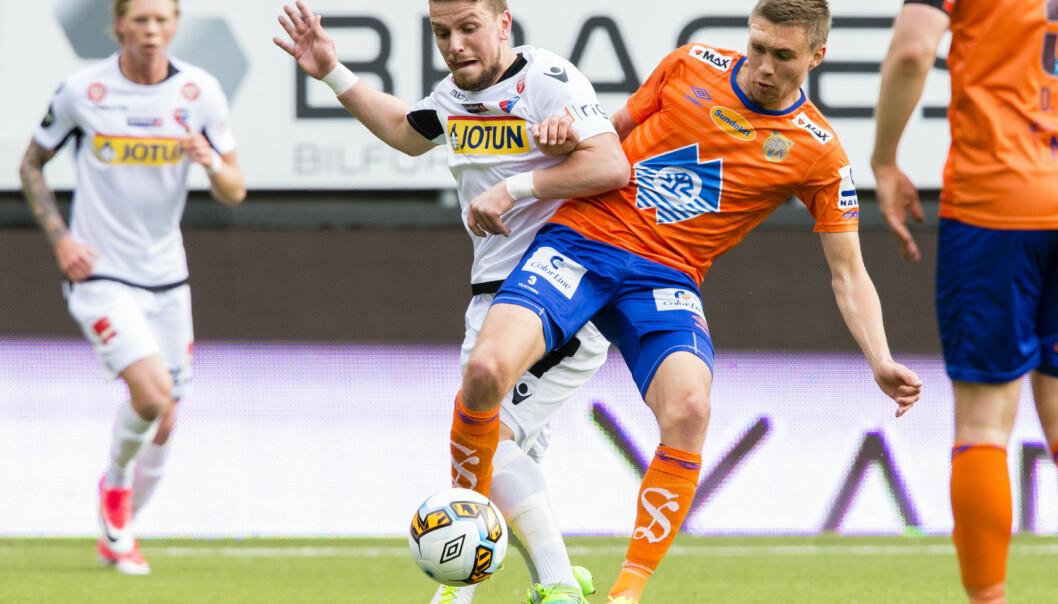30 prosent av Aalesund-spillernes lønn kommer fra bonuser. Bonuser har vært redningen for flere fotballklubber som har slitt med underskudd.  (Foto: Svein Ove Ekornesvåg / NTB scanpix)